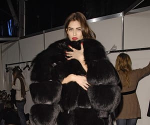 model, fashion, and fur image