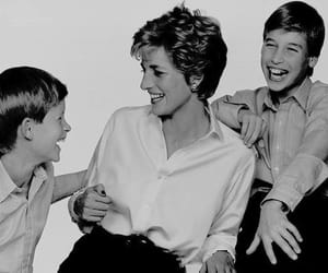 prince harry, princess diana, and harry image