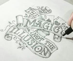 quote, ♡, and sketch image