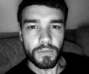 beautiful, black and white, and liam payne image