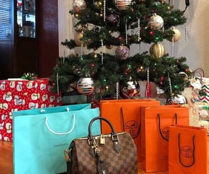 bag, christmas tree, and fashion image