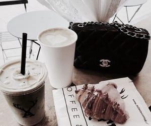 bag, drink, and chanel image