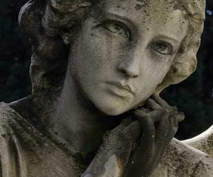 eyes, grey, and woman image