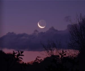 sky, moon, and photography image