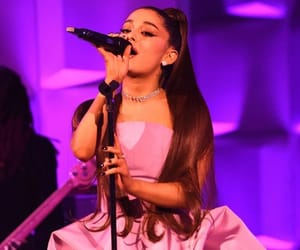music, woman, and ariana grande image