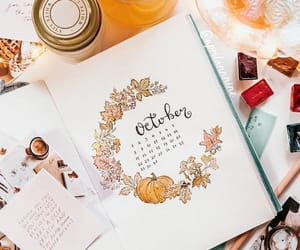inspiration, planner, and writing image