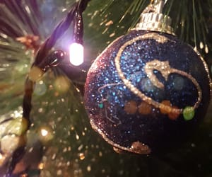 blue, christmas, and happy image