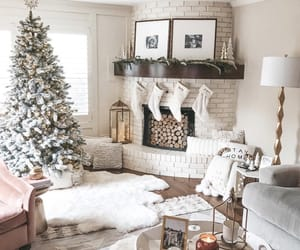 christmas, christmas tree, and decorating image