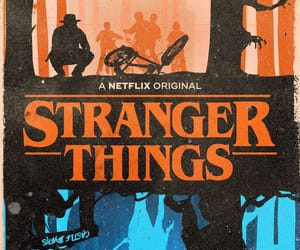 poster, stranger things, and david harbour image