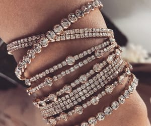 accessories, bling, and bracelet image