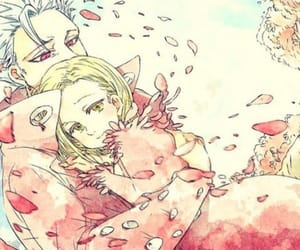 ban, elaine, and the seven deadly sins image