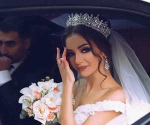 wedding, bride, and beauty image