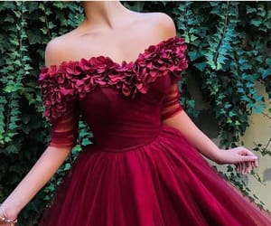 dress, beauty, and fashion image