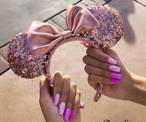 disney, pailettes, and rosa image