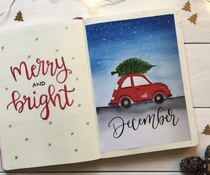christmas, festive, and green image