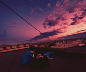 sky, aesthetic, and clouds image