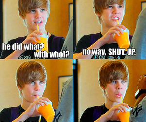 funny, justin bieber, and text image