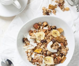 breakfast, cereal, and food image