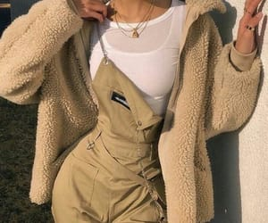 beige, chic, and clothes image
