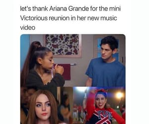 victorious, ariana grande, and thank u next image