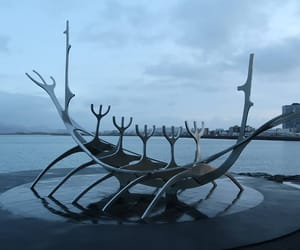 iceland, reykjavik, and sun voyager image