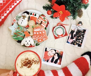 candycane, christmas, and Cookies image