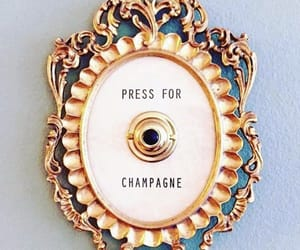 champagne, drinks, and humor image