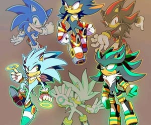 sonic, Sonic the hedgehog, and shadow the hedgehog image