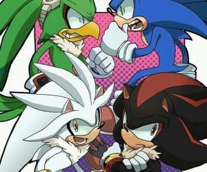 Sonic the hedgehog, shadow the hedgehog, and silver the hedgehog image