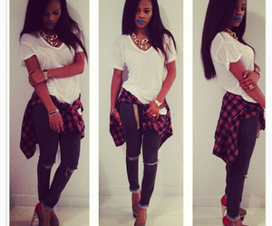 teyana taylor and heels image