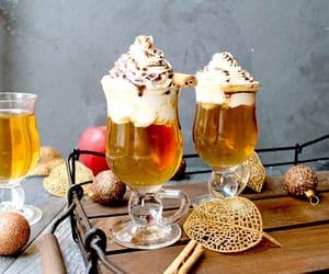 cider, drink, and food image