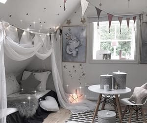 baby, bedroom, and stars image