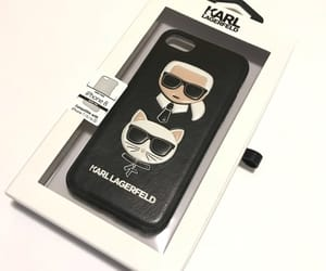 case, karl lagerfeld, and iphone 8 image