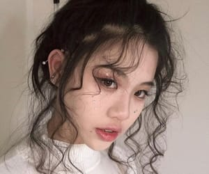 asian girls, ulzzang girls, and hair image