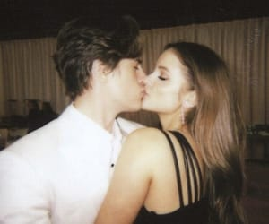 couple, kiss, and barbara palvin image
