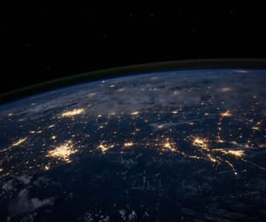space and earth image