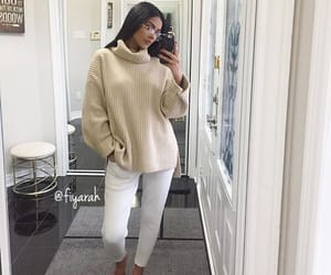 brune brunette, ootd tenue love, and mode moda lové image