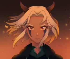 rayla and dragon prince image