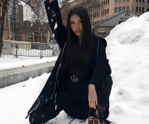 madison beer, winter, and gucci image