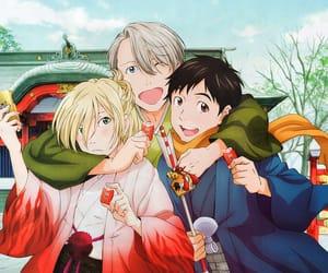 yuuri katsuki, victor nikiforov, and yoi image