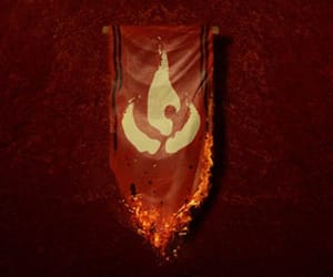 avatar, red, and symbol image