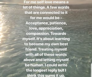 accept, selflove, and time image
