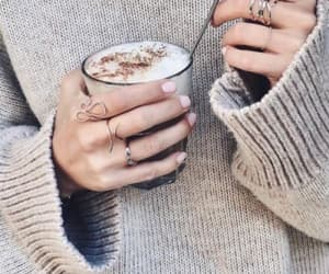 coffee, hot drinks, and winter image