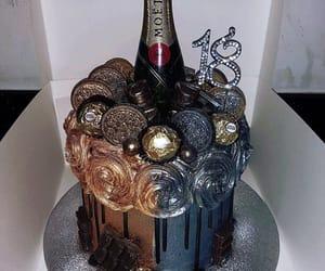 18, birthday, and birthdaycake image
