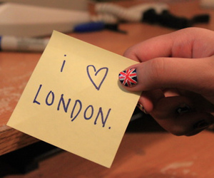 london and cute image