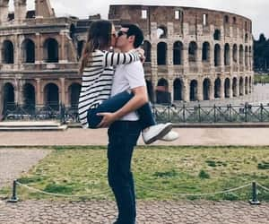 kiss, roma, and Relationship image