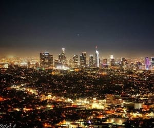 california, city, and griffith park image