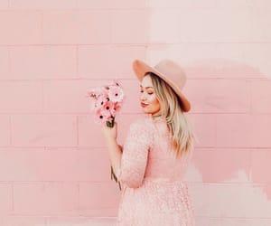 blush, boho, and fashion image