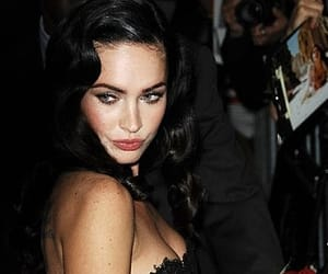 megan fox, red, and sexy image