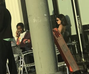 kendall jenner, lq, and asap rocky image